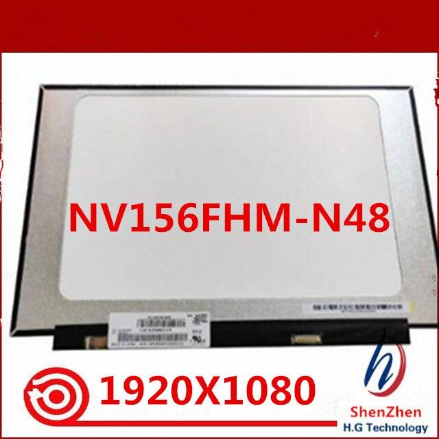 "Original para BOE IPS NV156FHM-N48 de pantalla NV156FHM N48 matriz de pantalla LED para Laptop 15,6 ""30Pin FHD 1920x1080 reemplazo mate"