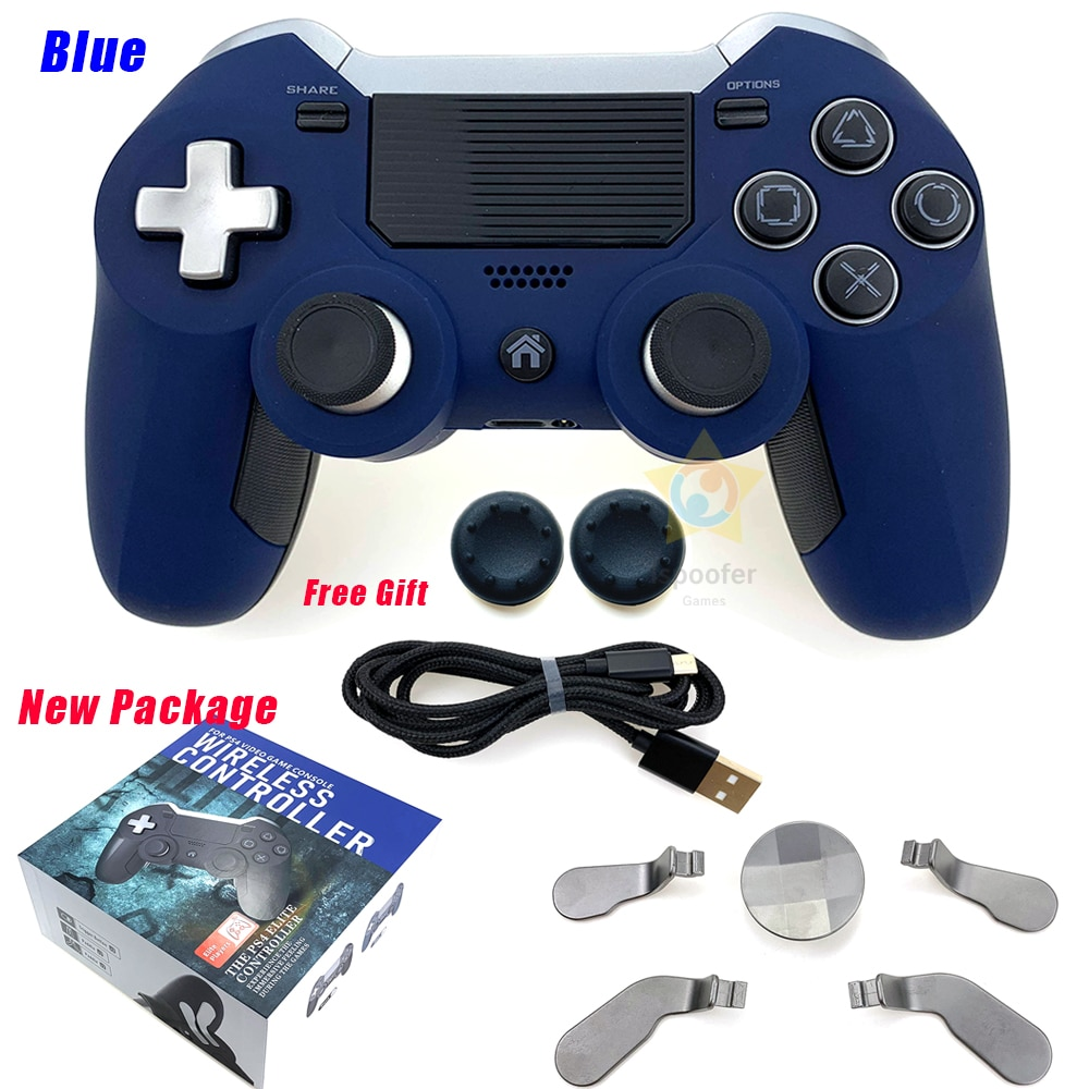 2020 Hot Sales Wireless Gamepads For Ps4 Dual Vibration Elite Game Controller Joystick For Ps3 / Pc Video Game Console enlarge