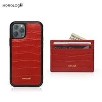 horologii personalized red mobile phone case for iphone xs x xr 11 12 13 pro max crocodile pattern dropship
