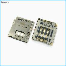 5 unids/lote Coopart nuevo lector con ranura para tarjetas SIM Socket titular para Lenovo Yoga Tablet B6000 B8000 B8080 A5500 S8000 A768T A816 A805E