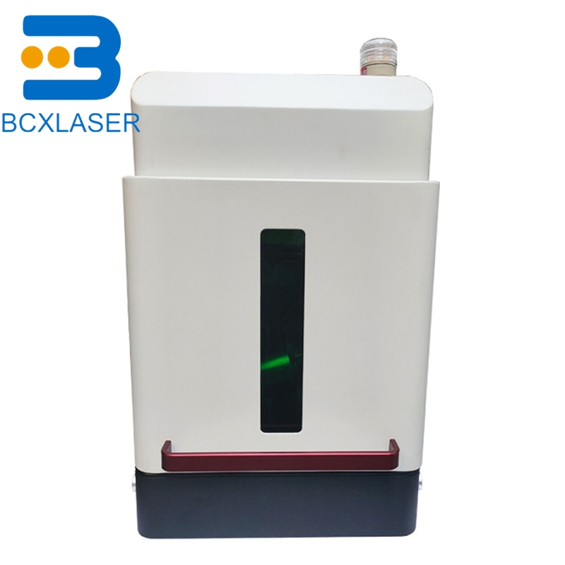 20w 30w 50w fiber laser marking machine make sample for free color customization enlarge
