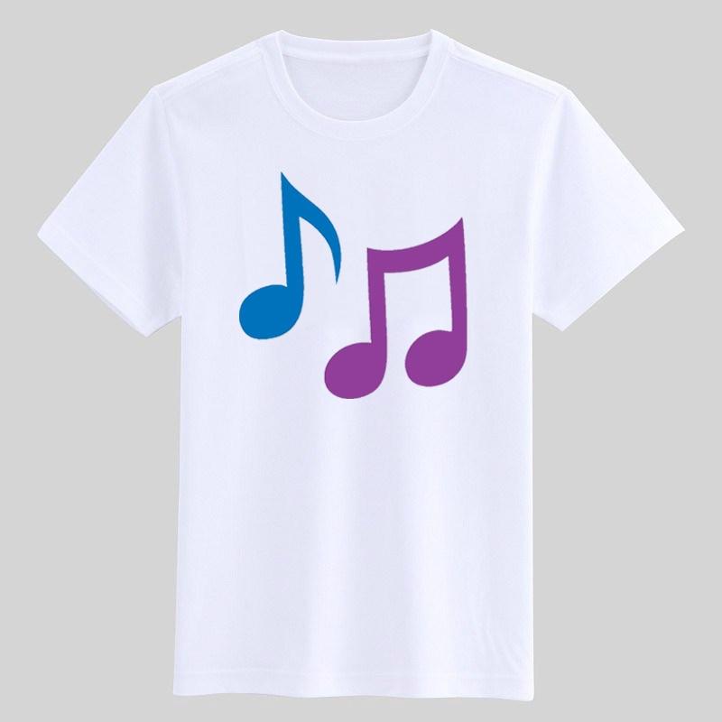 Детская футболка для девочек, одежда для музыки, детская одежда, футболка для девочек, графические футболки с музыкальными нотами, детская о...