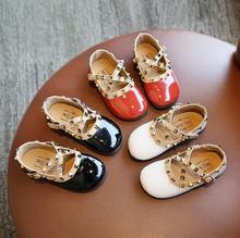 Enfants chaussures décontractées filles talon plat princesse danse sandales enfants chaussures paillettes en cuir mode filles robe de soirée chaussures de mariage