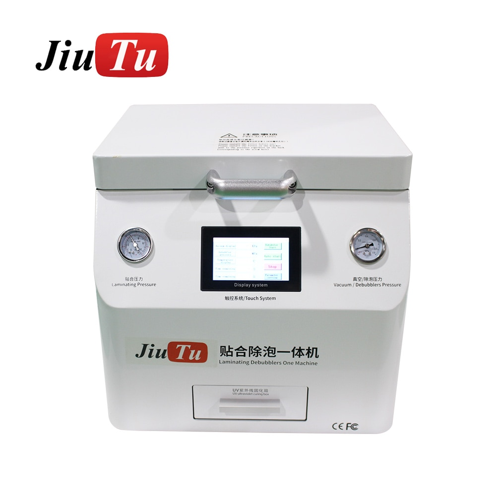 LCD Repair Machine For Flat Curved Edge For iPad 15 Inch Screen Repair Automatic Vacuum OCA Laminating Machine With UV Box