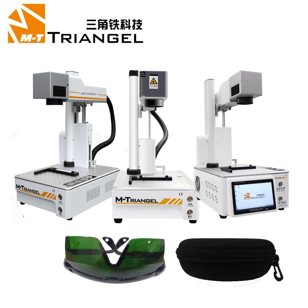 Máquina separadora láser m-triangel, máquina de reparación de fibra láser LCD para iPhone, separadora de vidrio lcd trasero, removedor de marco de corte