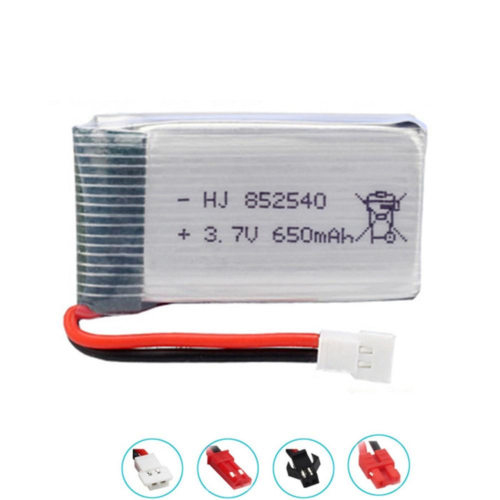 852540 3,7 V 650mAh Lipo батарея для SYMA X5C X5C-1 X5 H5C X5SW X6SW H9D H5C HJ818 HJ819 drone 3,7 V перезаряжаемая литиевая батарея