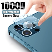 2Pcs Camera Screen Protector Glass For iPhone 11 12 Pro Max mini Tempered Glass 7 8 Plus X XR XS Max