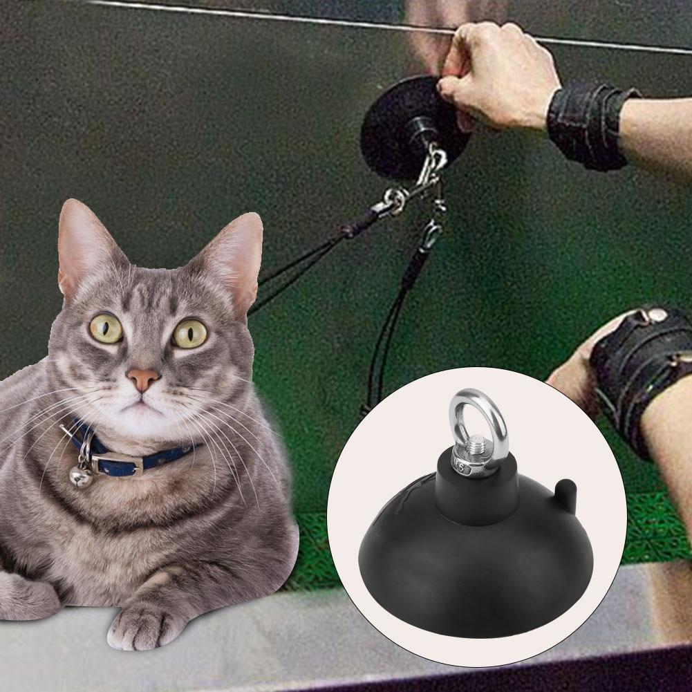 1 pieza de aseo para mascotas, ventosa de baño, Cable, Gargantilla, lazo, sistema de retención de baño, mesa de aseo de mascotas, ventosa mágica