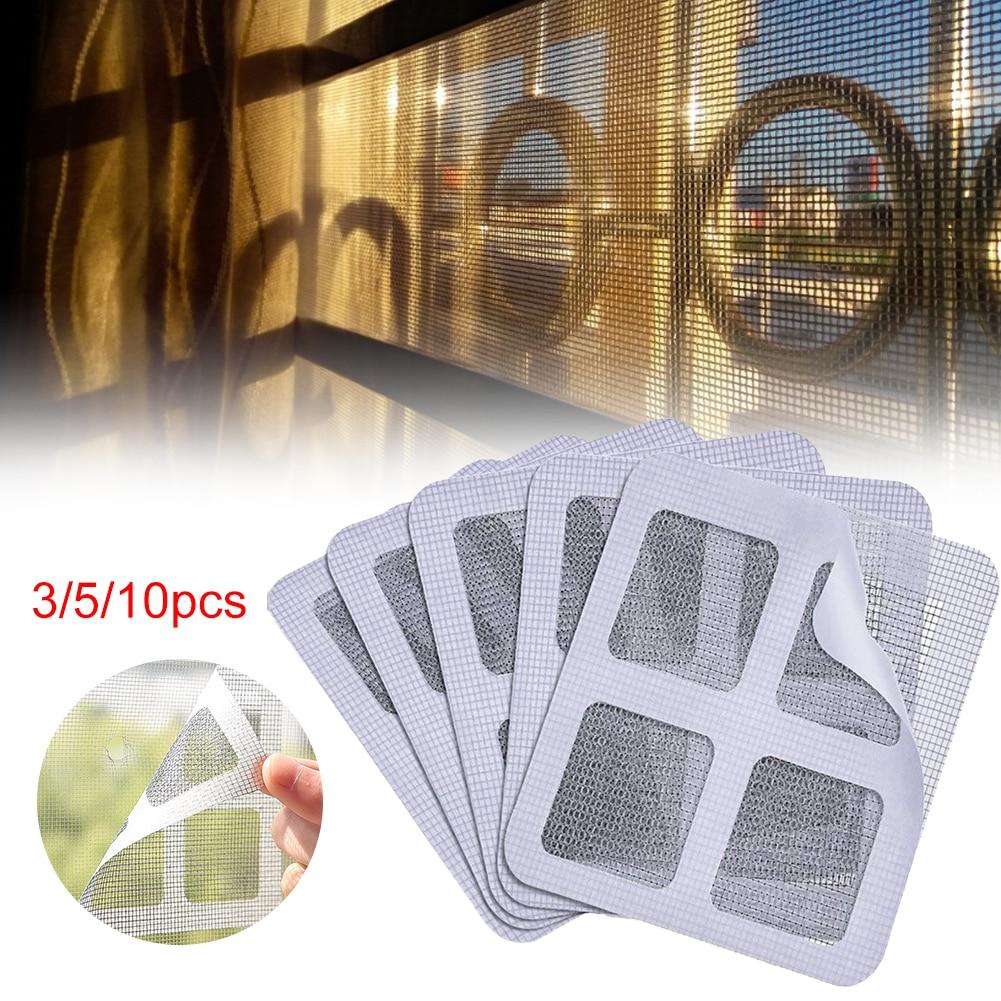 Сетка для окон, клейкая сетка для защиты от комаров, клейкие провода, ремонтная лента, летний экран, москитная сетка для окон и дверей, сетка ...