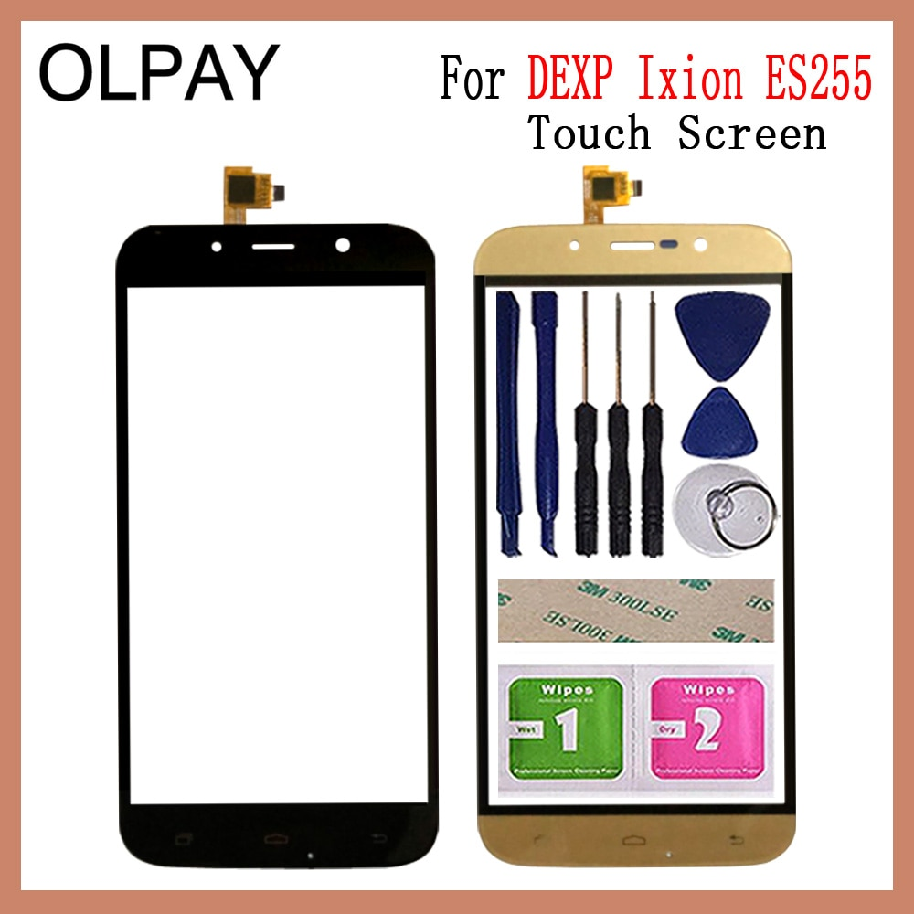 5.5'' Mobile Phone TouchScreen For DEXP Ixion ES255 Touch Screen Glass Digitizer  touch panel Front
