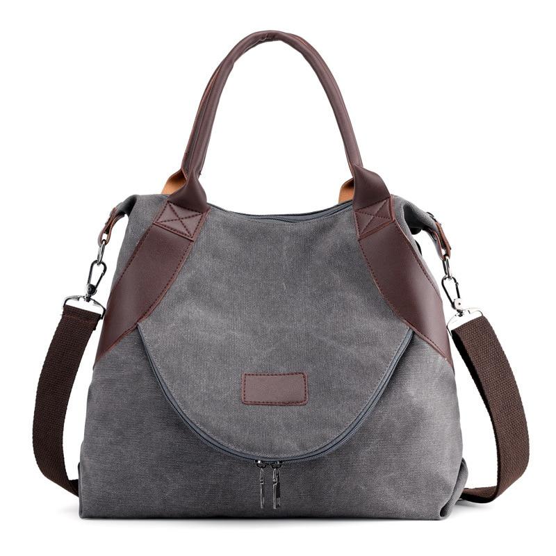 2020 Classic Canvas Hand Bag New Canvas Women Handbags Korean Style Shoulder Bags Crossbody For Woman