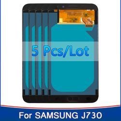 "5 peças/lote 5.5 ""tft incell display para samsung galaxy j7 pro 2017 j730 j730f lcd digitador assembléia peças de reposição 100% teste"