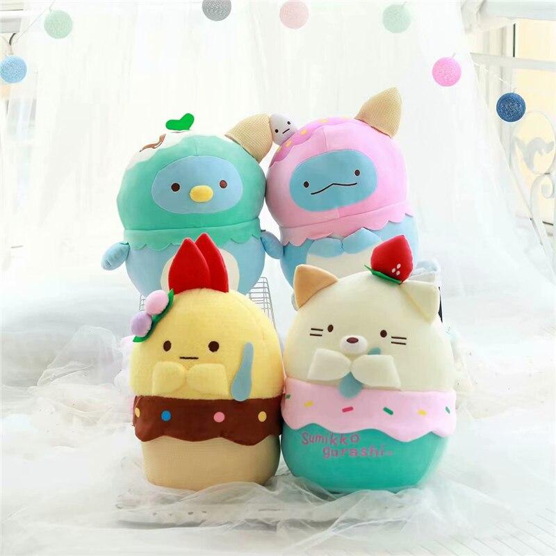 Sumikkogurashi, Colección verano de helados, muñecos de felpa, encantador animal, juguete de transformación, cura de anime, regalo para novia