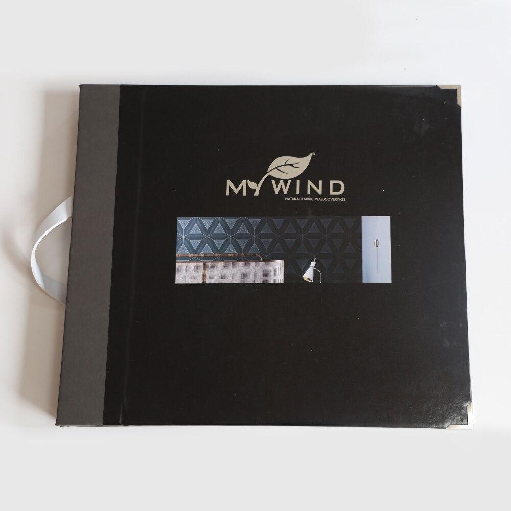MEIN WIND 2020 Neue Probe Buch #10 Heiße Verkäufe Kork Mehr Farben Sisal Abaca Holz Veener wählen Ein Buch