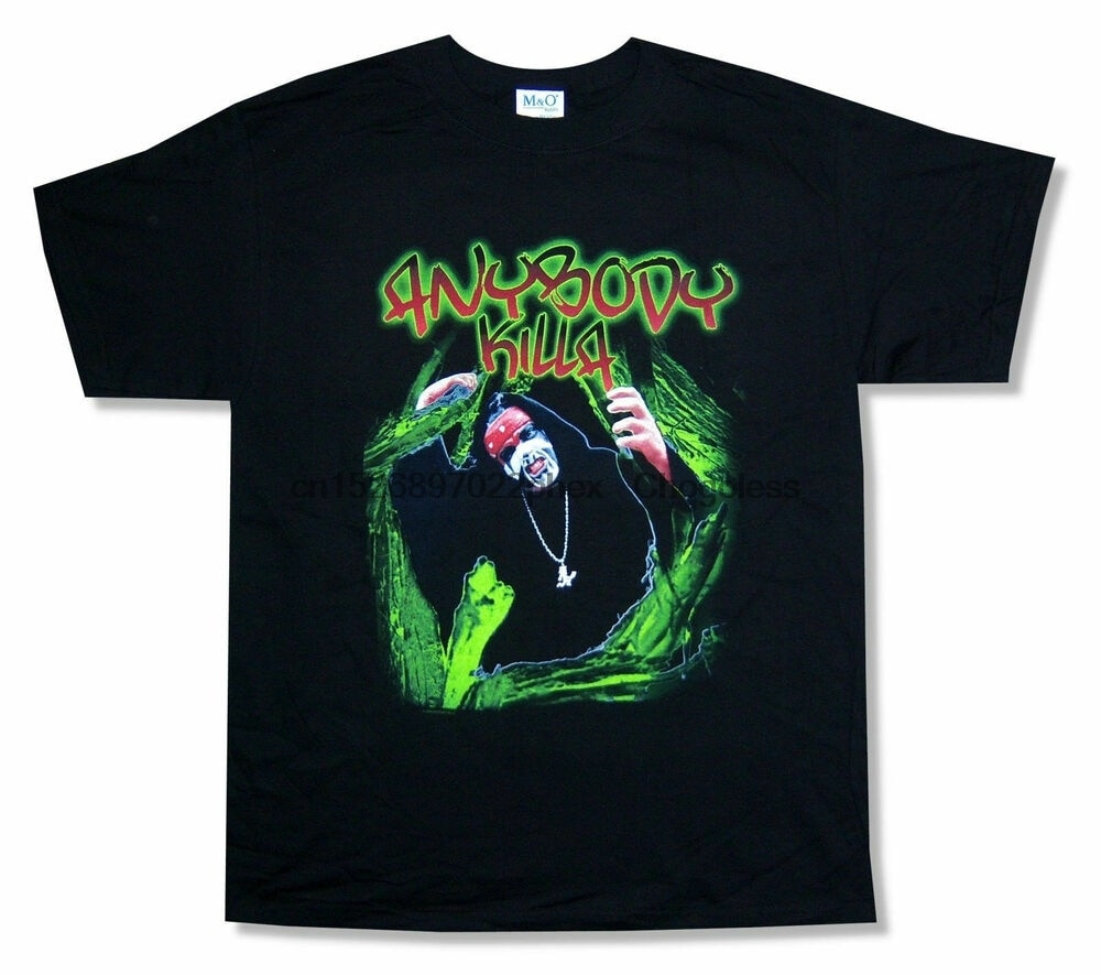 Любой KILLA - TEETH черная футболка ICP NEW NOS 2004 S-234XL AAA488