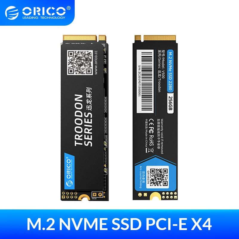 Внутренние твердотельные накопители ORICO M.2, SSD 128 ГБ, 256 ГБ, 512 ГБ, ТБ, M.2, NVMe, M2 SSD, 1 ТБ, PCIe, SSD, NVME, 2280 мм, 2280 V500