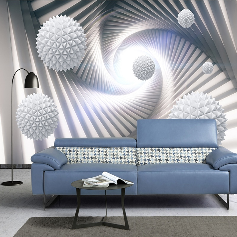 custom photo wall mural 3d wallpaper animals peacock oil painting 3d wall murals living room tv background wall mural wallpapers Custom 3D Wall Murals Wallpaper Abstract Stereoscopic Space Circle Ball Modern Living Room TV Background Photo Wall Paper Mural