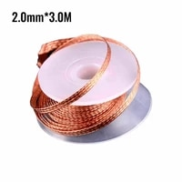 1pc welding suction line 1 522 533 5mm pure copper soldering supplies wires desoldering solder accessories for cp 15152015