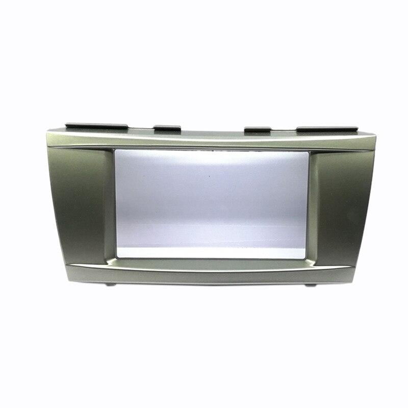 Auto Radio estéreo para Panel de salpicadero embellecedor de Marco Dash Kit para Toyota Camry 2007-2011
