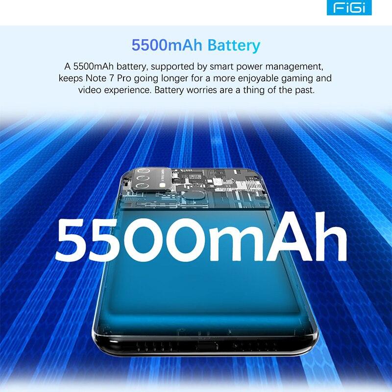[World Premiere] FIGI Note 7 Pro Smartphones Octa Core CPU 5500mAh Type-C Charger 6.8