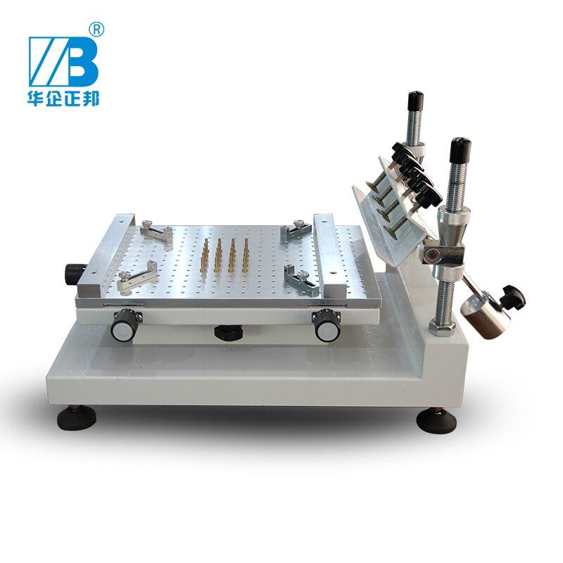 SMD компоненты ZB3040H Трафаретная Машина для принтера/паяльная паста PCB оборудование