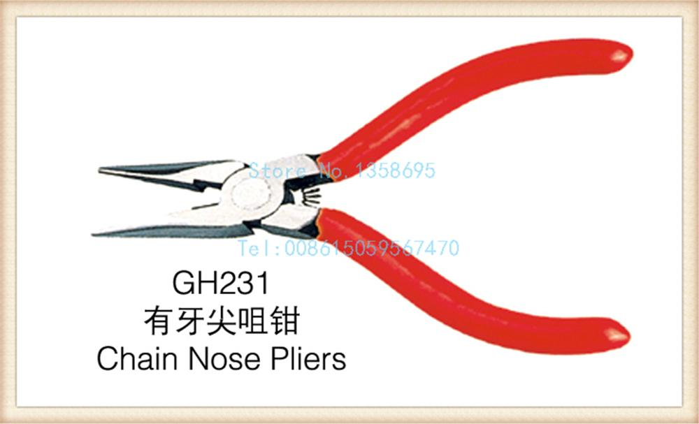 free shipping!!! New 1pc/lot GH231 chain nose pliers jewelry piers jewelry diy making tools DIY tools free shipping pepe jewelry making tools 110mm jewelry rolling mill gold rolling mill 1pc lot