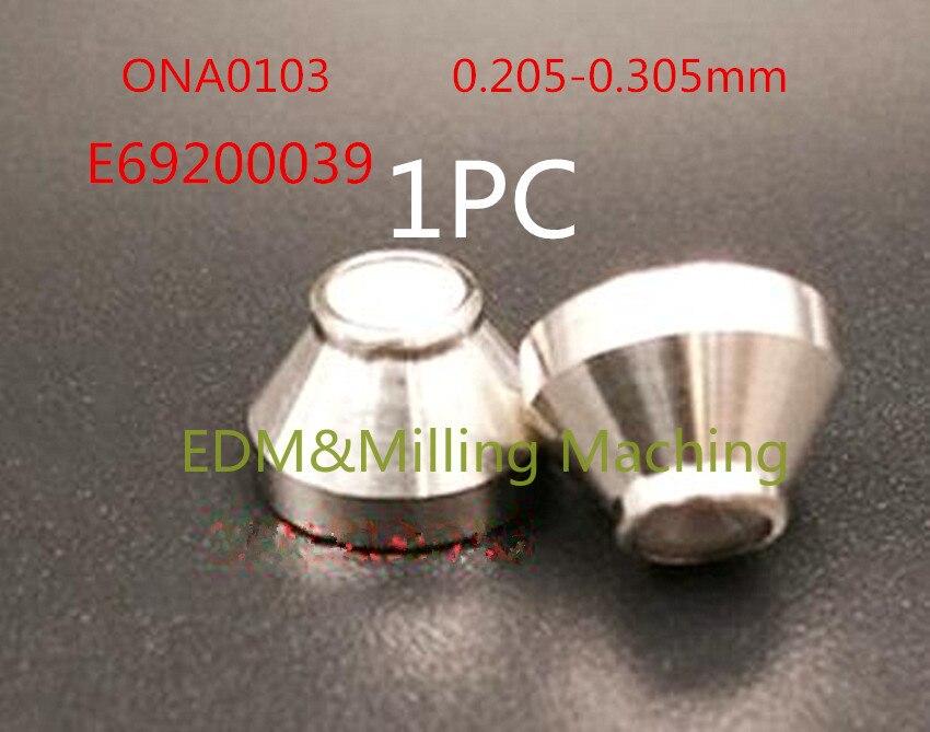 سلك إدم آلة ONA0103 E69200039 الماس دليل فوهة 0.155- 0.305 مللي متر ل أونا آلة الخدمة