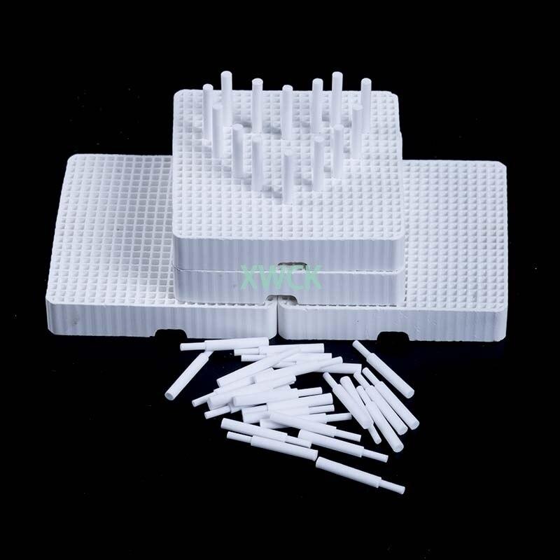 4 шт., сотовые обжимные лотки с 40 керамическими шпильками