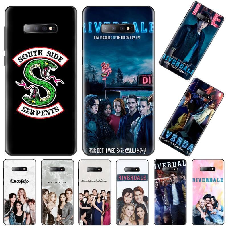 Americano TV Riverdale serpiente de Southside teléfono caso Capa para Samsung Galaxy S5 S6 S7 S8 S9 S10 S10e S20 edge plus lite
