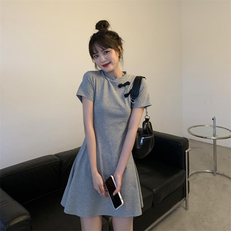 Vestido holgado informal para perezosos, vestidos de mujer, Harajuku japonés Vintage para mujer, Ulzzang, Kawaii Coreano femenina, ropa bonita para mujer