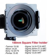 Wyatt support de filtre carré en métal 150mm pour Tamron 15-30, Nikon 14-24, Sigma 14-24/12-24/20mm/14mm, Sony 12-24, pentax 15-30
