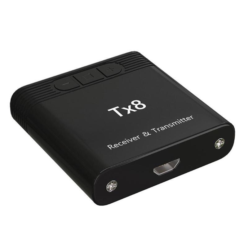 TX8 inalámbrico Bluetooth 4,0 transmisor receptor Adaptador de Audio para teléfono ordenador se puede conectar fácilmente con auriculares Bluetooth