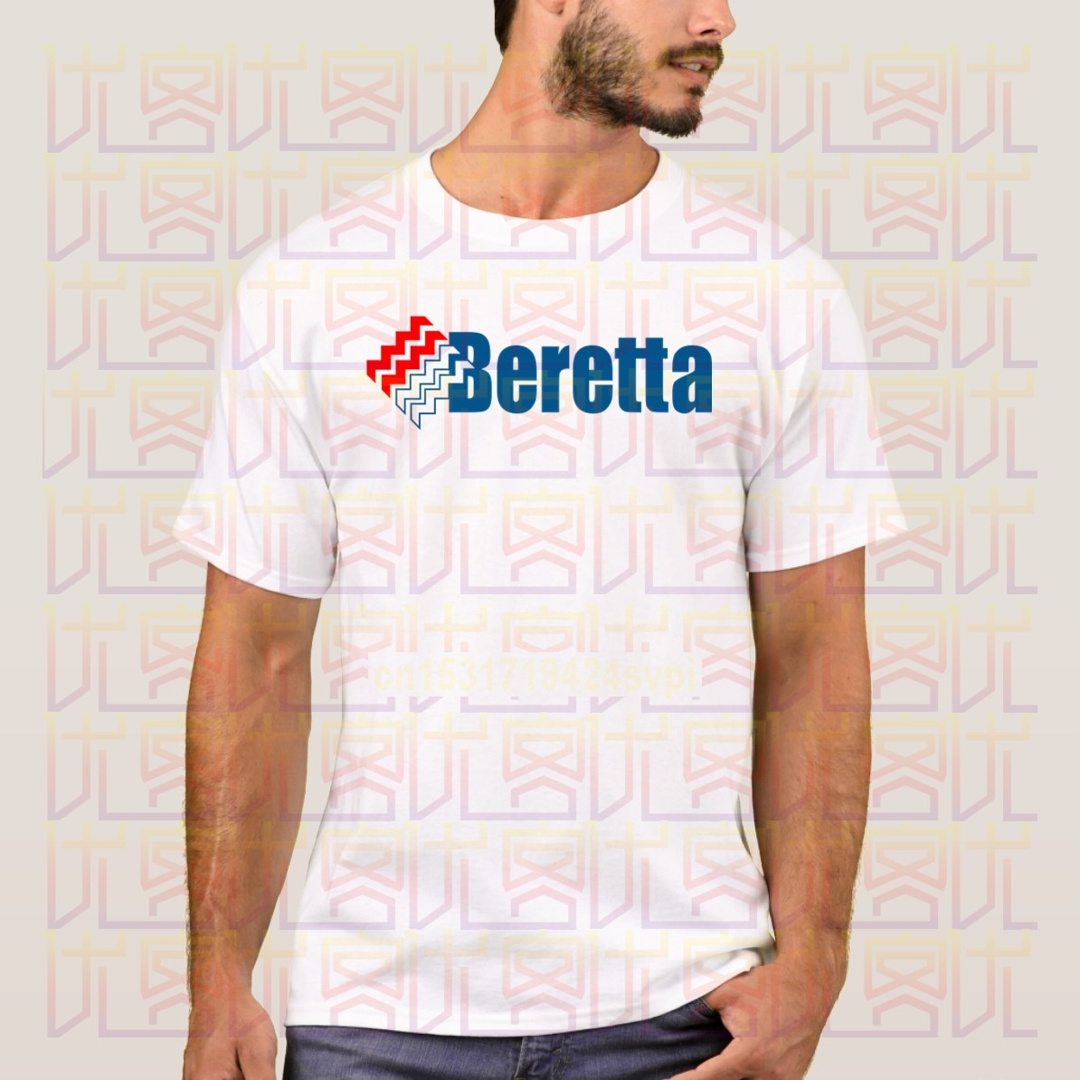 Camiseta BERETTA a la moda para hombre, envío gratis, camiseta de manga corta increíble, camiseta exclusiva 100% de algodón con cuello redondo, camiseta Popular