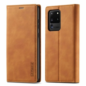 For S21 Ultra Case For Samsung S20 FE S20FE 4G 5G Flip Magnetic Book Cover On Samsung Galaxy S10 S9 S8 Plus Case Leather Wallet