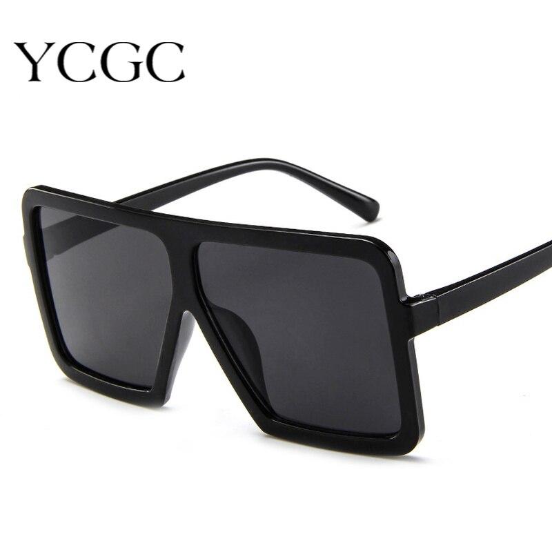 Oversized Women Sunglasses 2020 Square Brand Designer Eyeglasses Frame Sunglasses for Female UV400 S