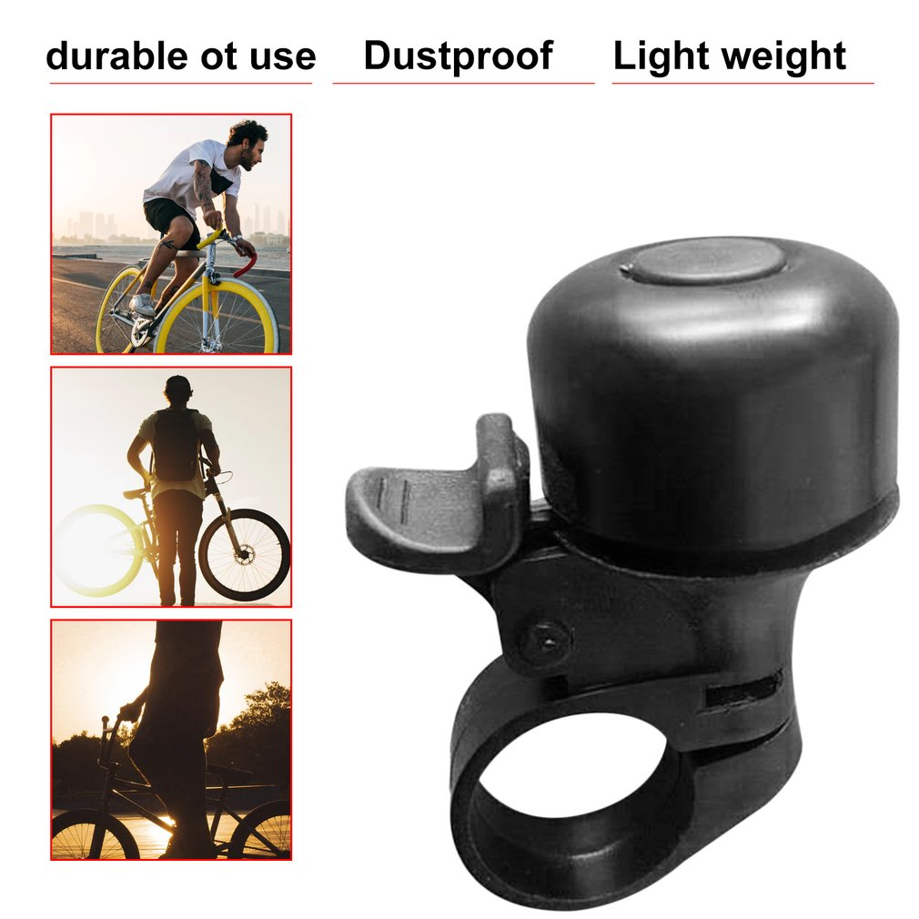 New Safety Metal Ring Handlebar Bell Loud Sound for Bike Cycling bicycle bell horn
