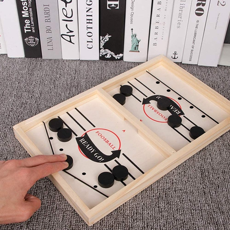 New Kids Slingpuck Board Game Puzzle Children Montessori Toys Hand-eye Coordination Training Table Football Battle Party Games enlarge
