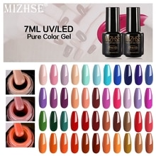 MIZHSE 7ML couleur Gel vernis à ongles vernis à ongles série dart couleur UV LED acrylique pour Gel vernis Gelpolish Shilak Semi Permanent