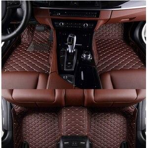 Custom special car floor mats for Ford Explorer 7 seats 2019-2011 waterproof durable carpets for Explorer 2017