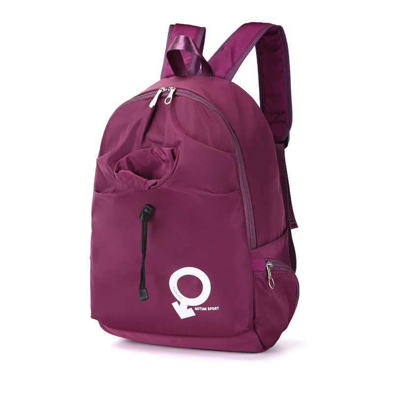 New Backpack Womens Waterproof Nylon Personality Trendy Multi-Functional Leisure Big Bag travel backpack