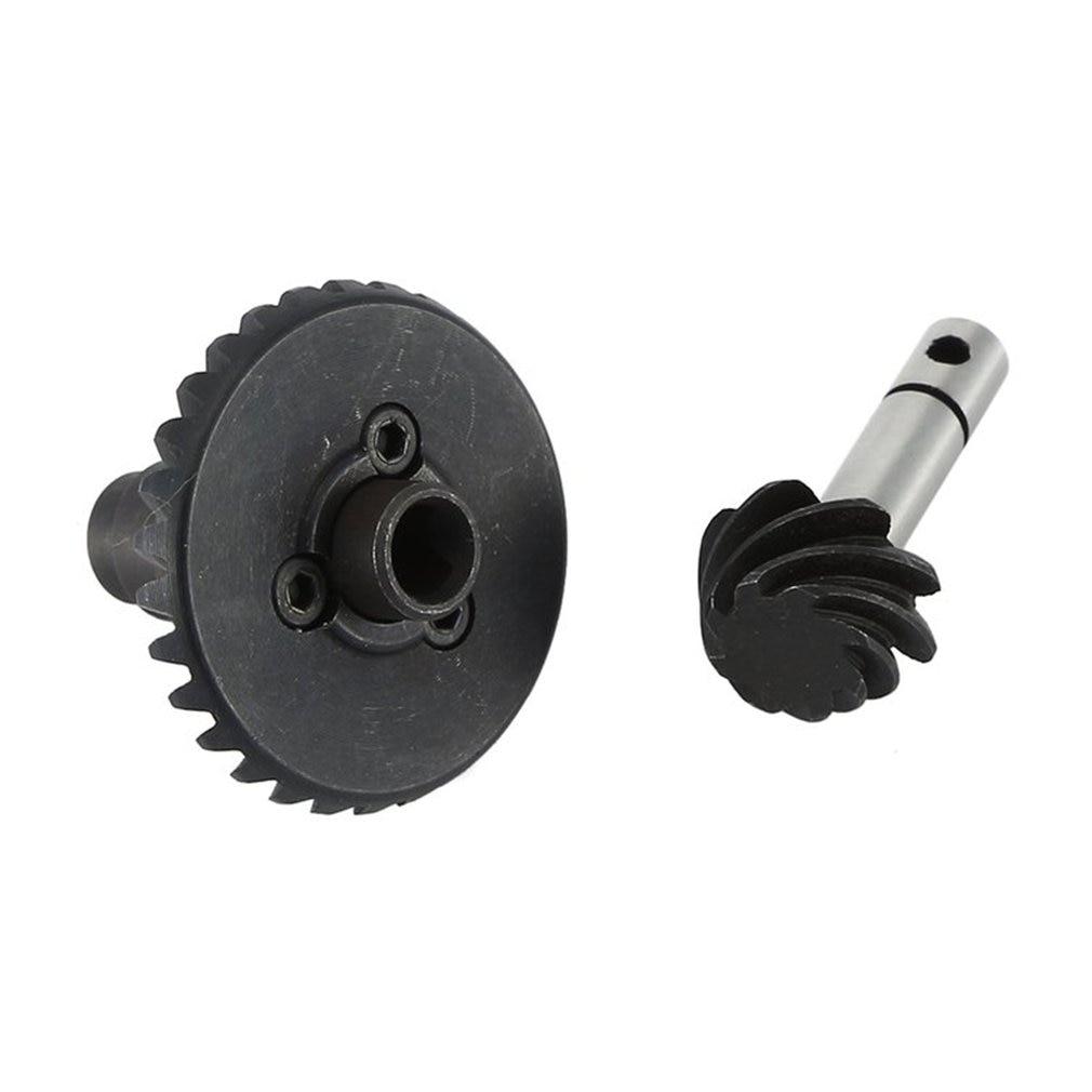 Stainless Steel Heavy Duty Steel Helical Bevel Gear Set 8T 30T For Axial Scx10 Ii Ar44 90046 Axle For Child Assembly Toy enlarge