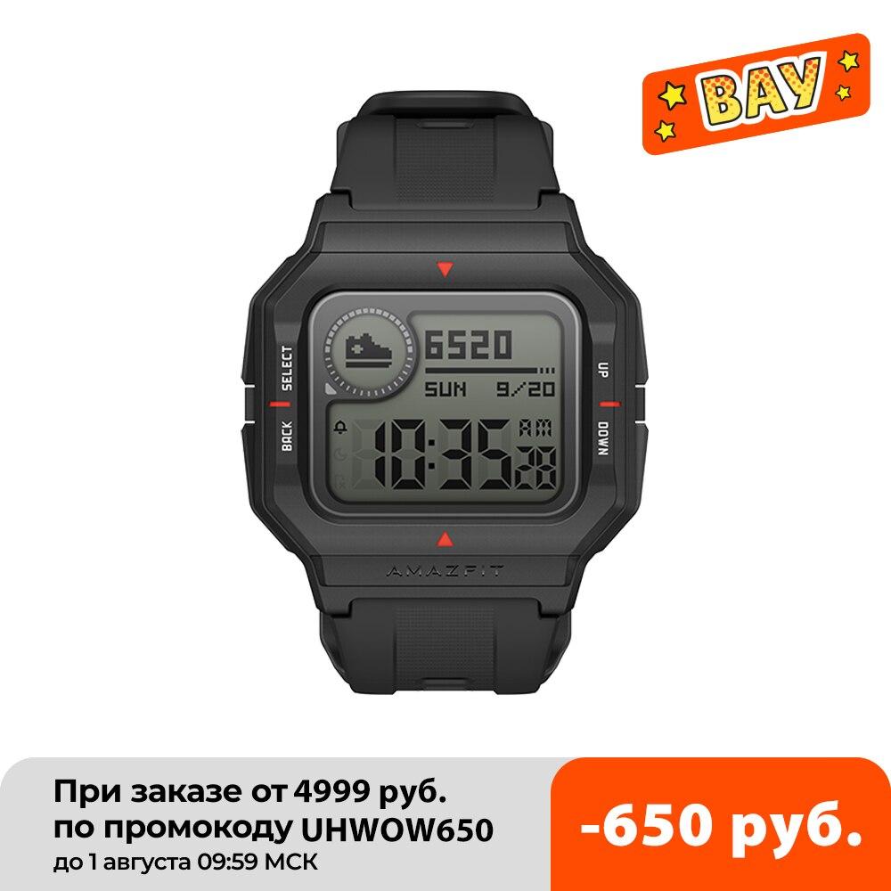 جديد 2020 Amazfit Neo ساعة ذكية Smartwatch 5ATM تتبع 28 أيام بطارية الحياة ساعة بلوتوث متوافقة للهاتف أندرويد IOS