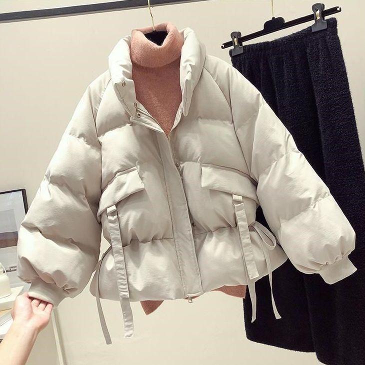 Хлопковая одежда, женская одежда, новинка 2020, модное свободное короткое зимнее теплое Женское пальто в Корейском стиле для студентов, куртк...