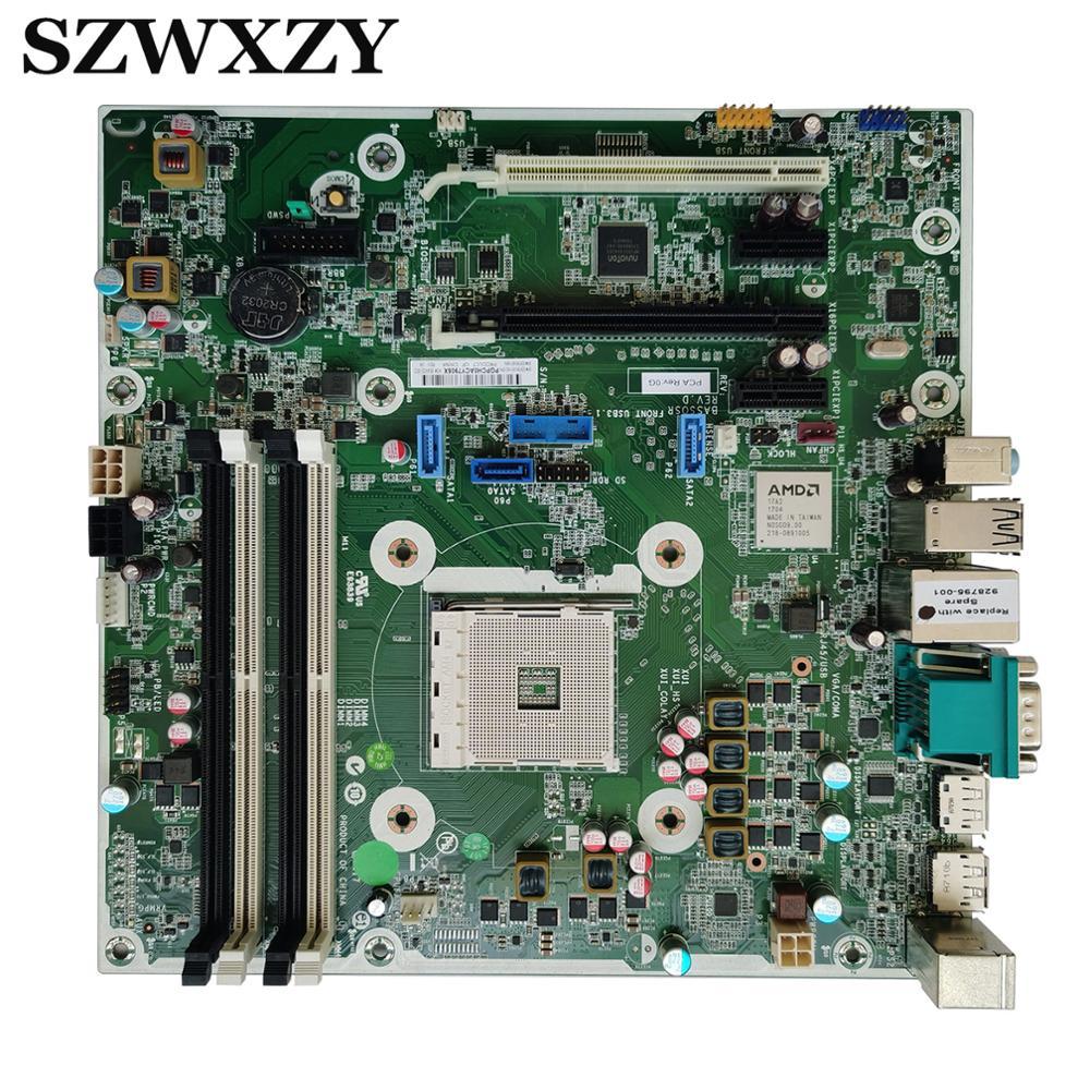 Для HP 705 G3 MT SFF настольная материнская плата 928795-001 928795-601 854432-002 Socket AM4 B350