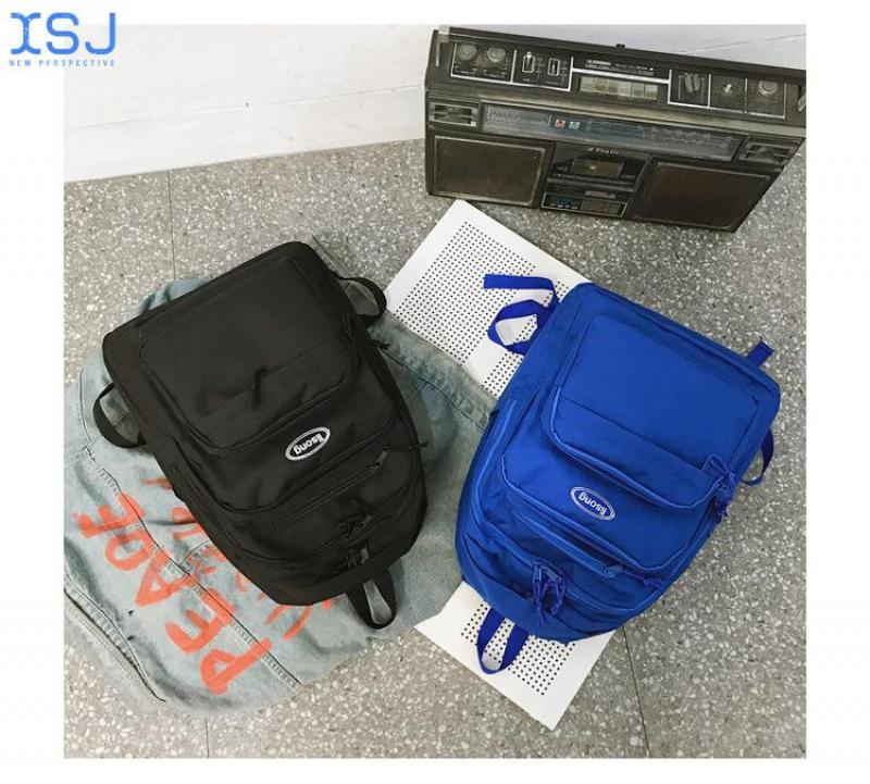 Модный вместительный рюкзак Ins для студенток колледжа для старшей школы в Корейском стиле рюкзак для компьютера водонепроницаемый рюкзак