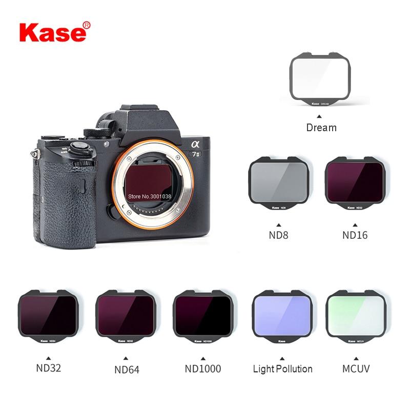 مرشح ليلي Kase مدمج MCUV/ND/محايد ، كاميرا Sony A7 Series/A7R/سلسلة A7S/A9 (مرشح واحد)