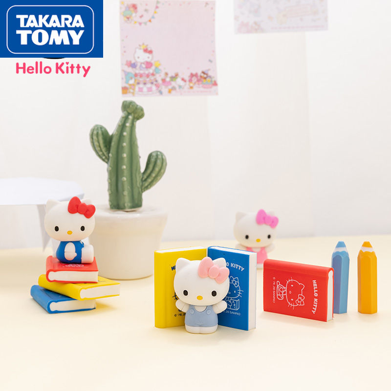 Милый чехол-книжка для учеников TAKARA TOMY с героями мультфильмов Hello Kitty простые креативные Индивидуальные детские школьные принадлежности