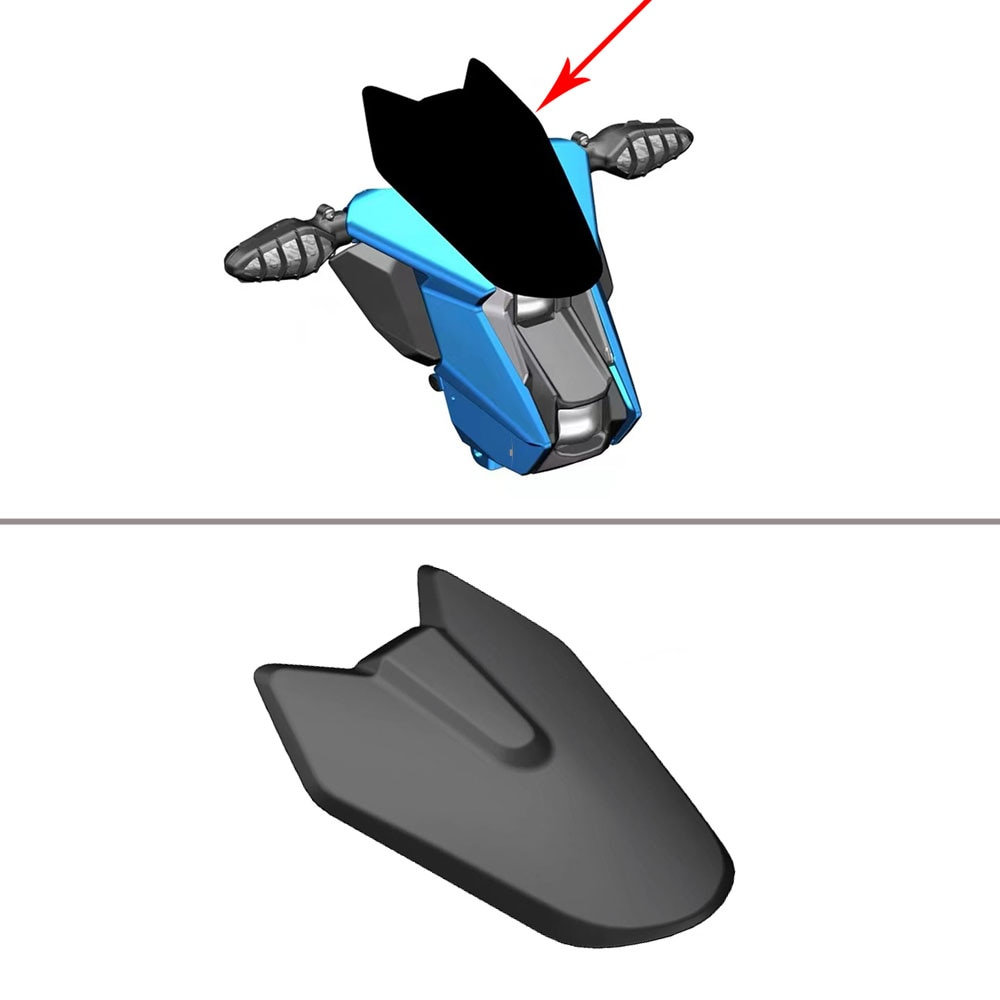 اكسسوارات الدراجات النارية الأصلي الزجاج الأمامي للزجاج الأمامي ZONTES U 125 / U1 125 / U 155 / U1 155 / U 150 / U1 150