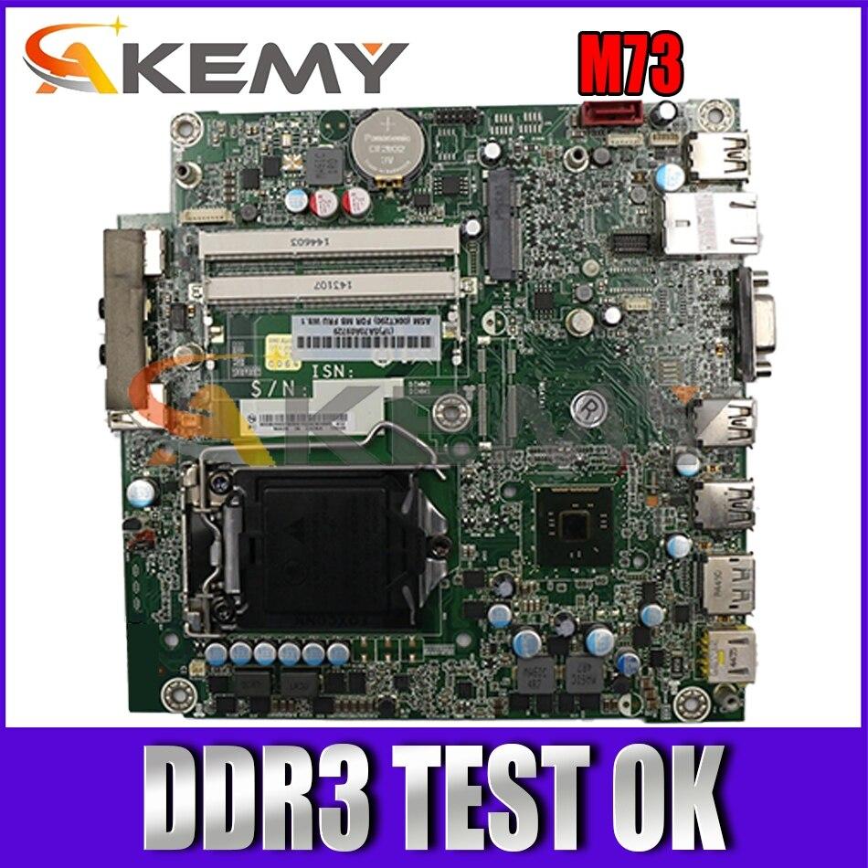لوحة أم عالية الجودة للكمبيوتر المحمول لينوفو M73 LGA1150 H81 DDR3 FRU 00KT290 100% تم اختبارها بسرعة الشحن