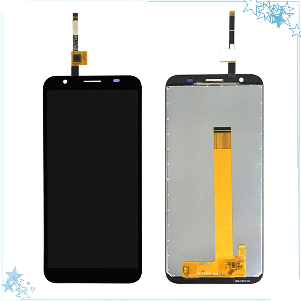 Black/Blue For Doogee X55 LCD Display With Touch Screen Digitizer Replacement Assembly Mobile Phone